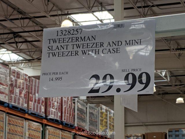 Tweezerman Slant Tweezer Set Costco