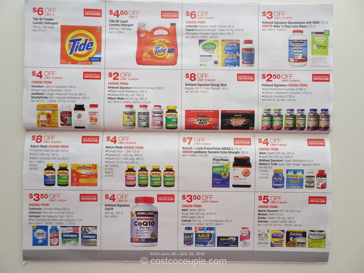 costco july coupon book 2019