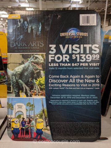 Gift Card Universal Studios Hollywood Costco