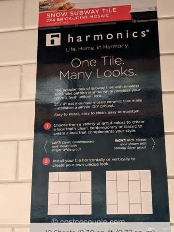 Harmonics Flooring Porcelain Subway Tile Costco