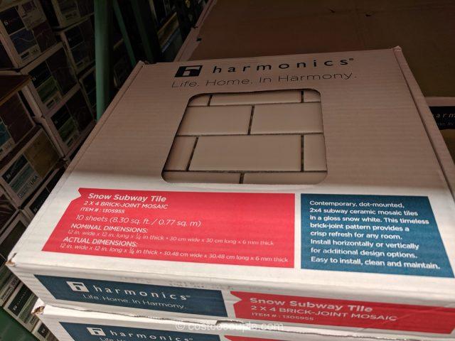 Harmonics Flooring Porcelain Subway Tile