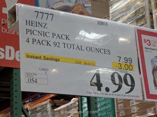 Heinz Picnic Pack Costco