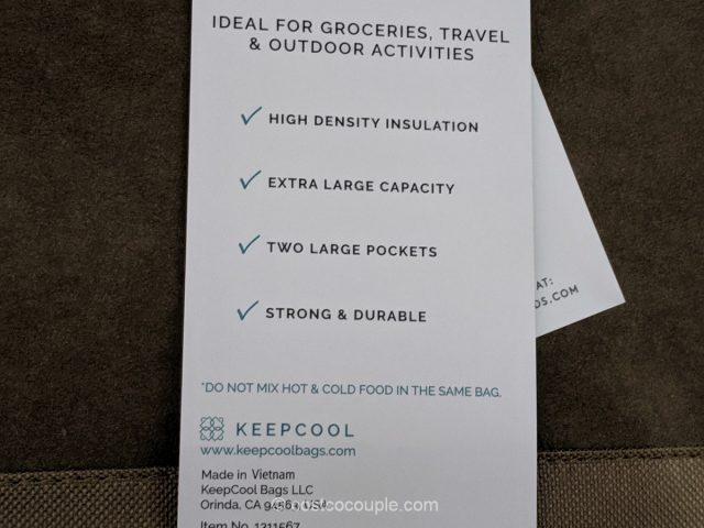 KeepCool Insulated Shopping Bag Costco
