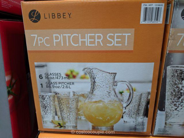 Libbey Glass Pitcher Set Costco