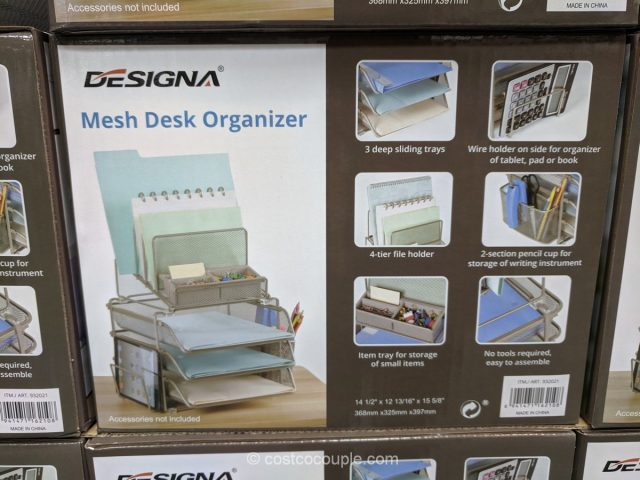 Mesh Desk Organizer Costco