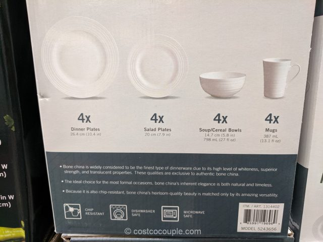 Mikasa Ciara Bone China Set Costco