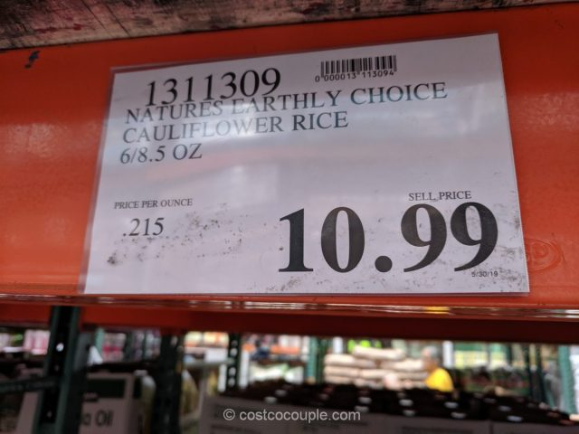 Natures Earthly Choice Cauliflower Rice Costco