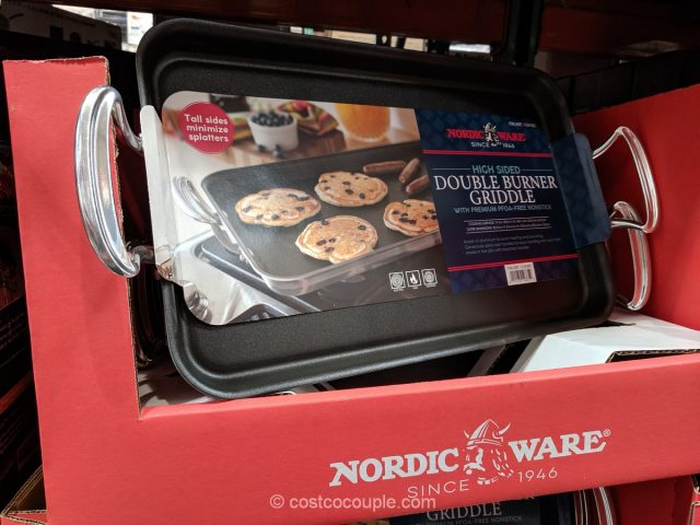 Nordic Ware High Sided Double Burner Griddle Costco