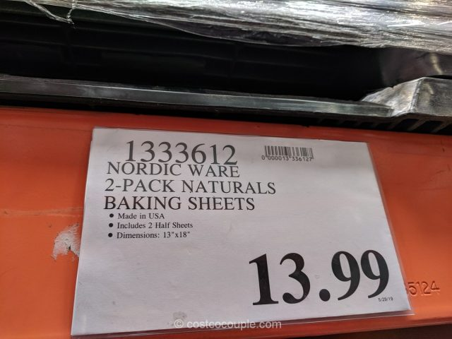 Nordic Ware Naturals Baking Sheet Set Costco