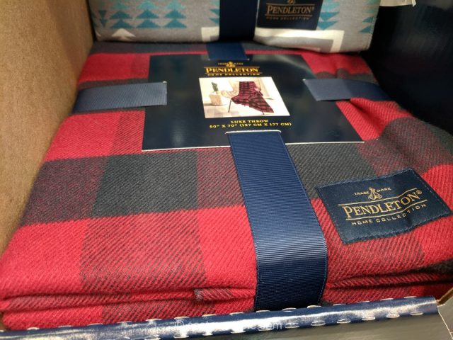 Pendleton Luxe Throw Costco