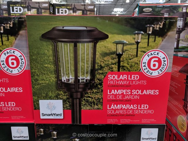 Smartyard Small LED Pathway Lights Costco