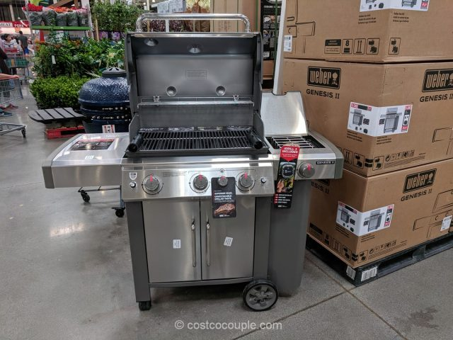 Weber Genesis II S-345 Gas Grill Costco