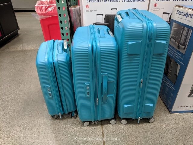 American Tourister Curio 3-Piece Luggage Set Costco