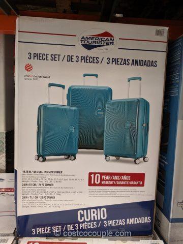 American Tourister Curio 3 Piece Luggage Set
