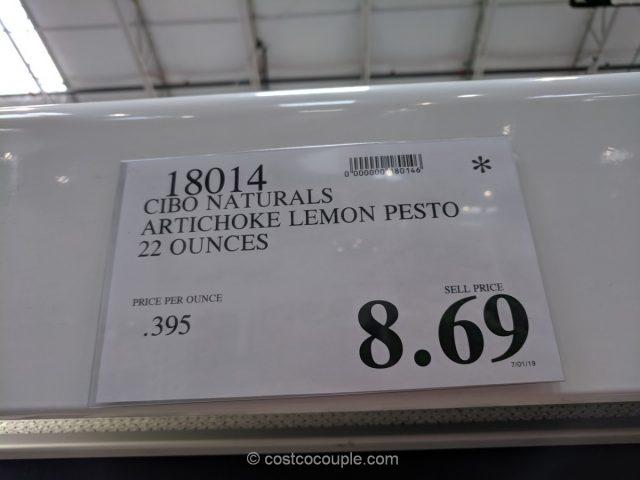 Cibo Naturals Artichoke Lemon Pesto Costco