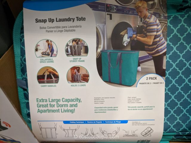 Clevermade Laundry Totes Costco