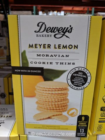 Dewey's Bakery Meyer Lemon Cookie Costco