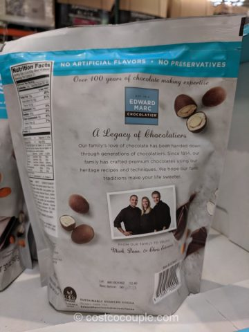 Edward Marc Dark Chocolate Coconut Almonds Costco