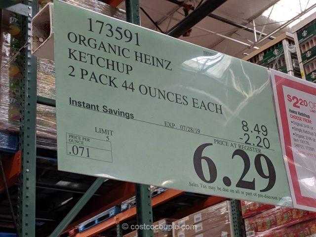 Heinz Organic Ketchup Costco