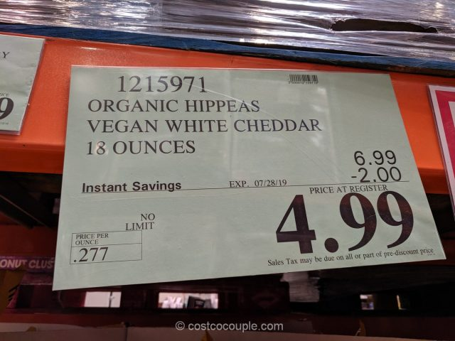Hippeas Organic Chickpea Puffs Costco