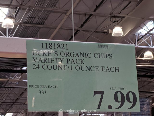 Luke's Organic Chips Variety Pack Costco