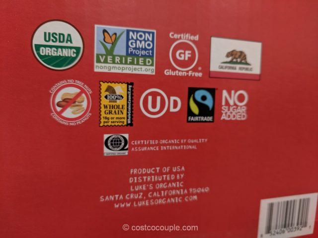 Luke's Organic Chips Variety Pack Costco