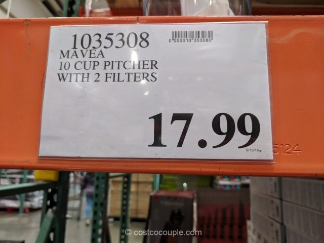Mavea 10-Cup Water Filter Pitcher Costco