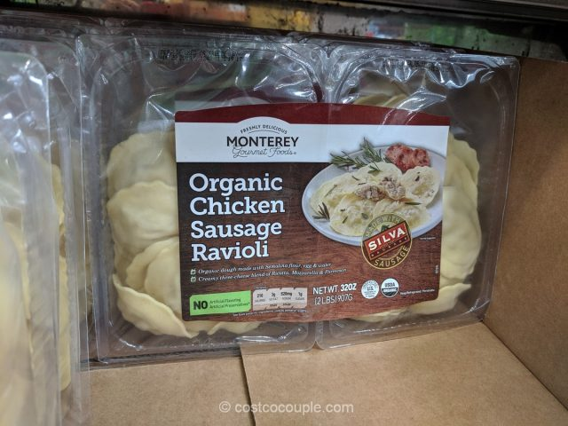 Monterey Pasta Organic Chicken Sausage Ravioli Costco