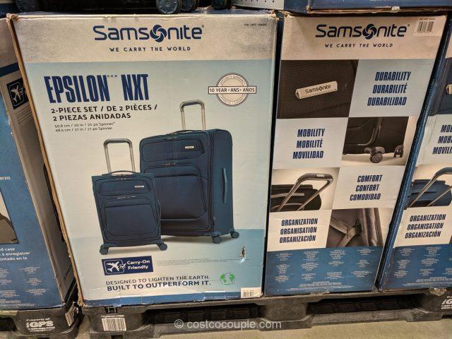 Samsonite Epsilon NXT Spinner Set Costco