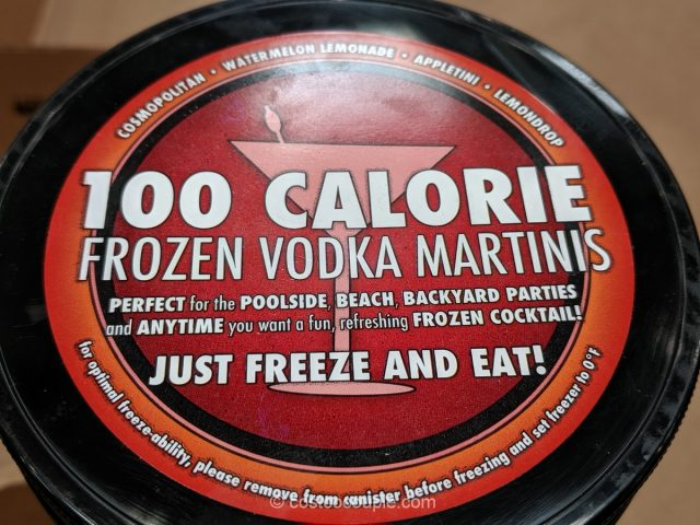 Slim Chillers Frozen Vodka Martinis Costco