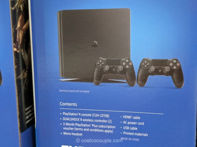 Sony Slim PlayStation 4