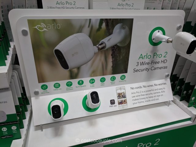 Arlo Pro 2 Wire-Free 3 Camera HD Security System