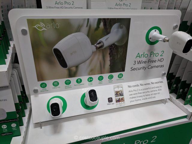 Arlo Pro 2 Wire-Free 3 Camera HD Security System Costco