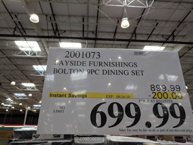 Bayside Furnishings Bolton Dining Set