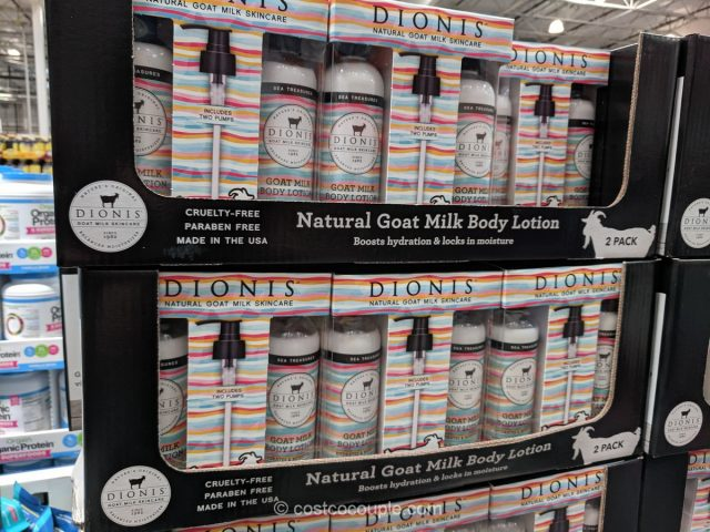 Dionis Natural Goat Milk Body Lotion Costco