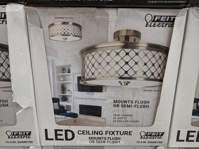 Feit Electric LED Ceiling Fixture Costco