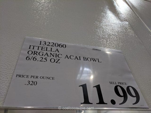 Ittella Organic Acai Bowl Costco