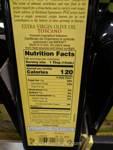 Kirkland Signature Tuscan Extra Virgin Olive Oil Costco