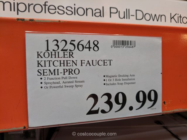 Kohler Semi-Professional Kitchen Faucet Costco