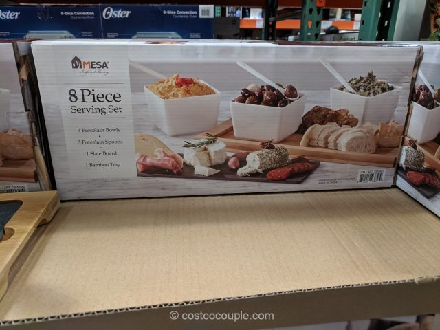 Mesa 8-Piece Serving Set Costco