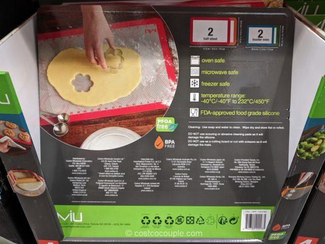 Miu Silicone Baking Mats