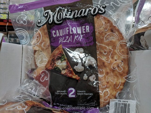 Molinaro's Cauliflower Pizza Kit Costco