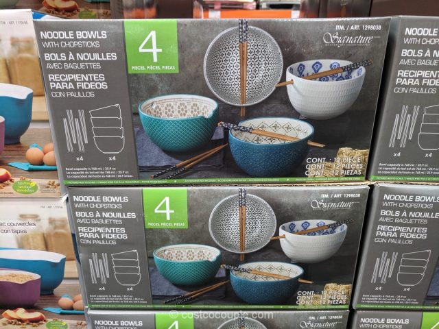 Signature Noodle Bowl Set