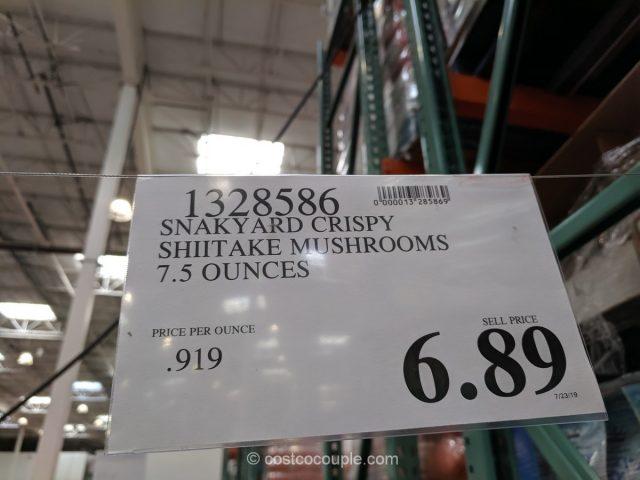 SnakYard Crispy Shiitake Mushrooms Costco