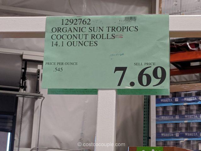 Sun Tropics Organic Coconut Rolls Costco