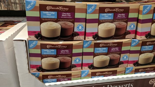 The Cheesecake Factory Decadent Dessert Pack Costco