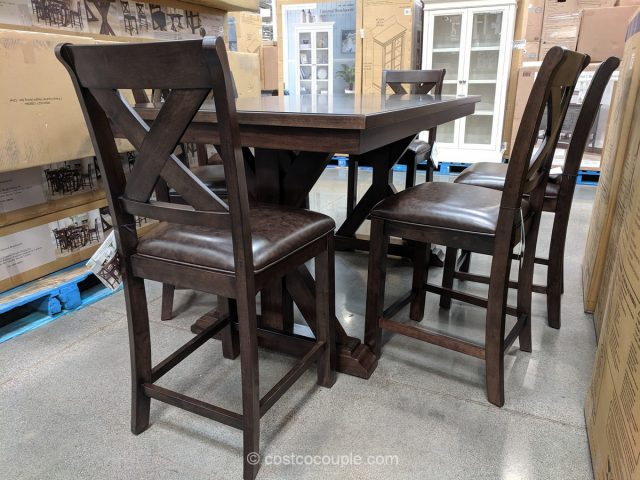 Universal Broadmore Glenn Counter Height Dining Set Costco