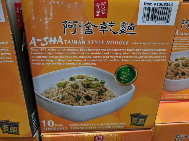 A-Sha Tainan Style Noodle Costco