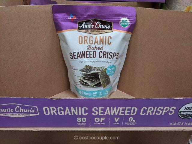 annie chun's organic seaweed crisps