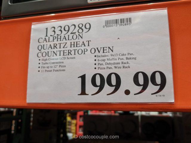 Calphalon Quartz Heat Countertop Oven